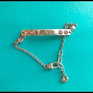 Brighton pink LOVE bracelet